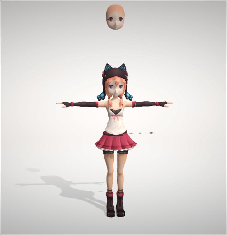 女の子(3D)