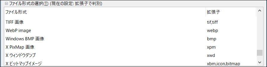 WebP形式