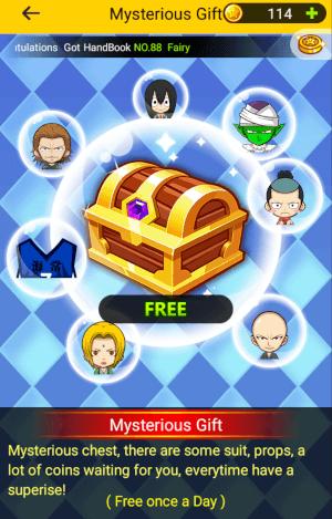 宝箱から新パーツ