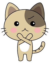 ネコ(バッテン)