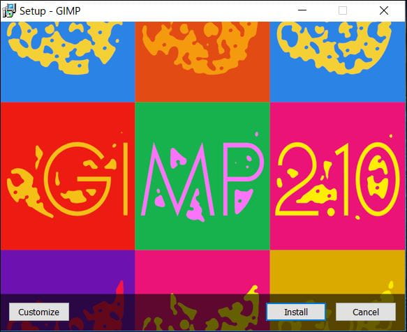 GIMPインストール