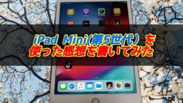 ipad mini(背景サクラ)