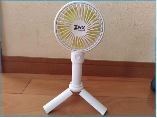 ZNXミニ扇風機スタンド機能