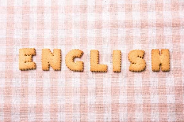 お菓子で英語