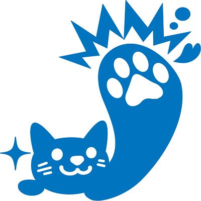 青ネコパンチ