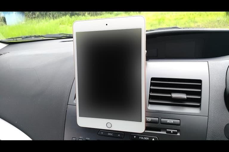 iPad mini5を縦に取り付け