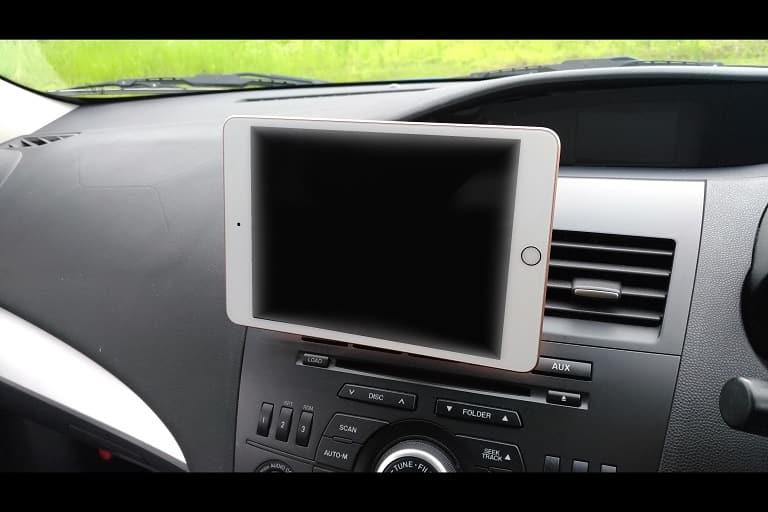iPad mini5横に取り付け