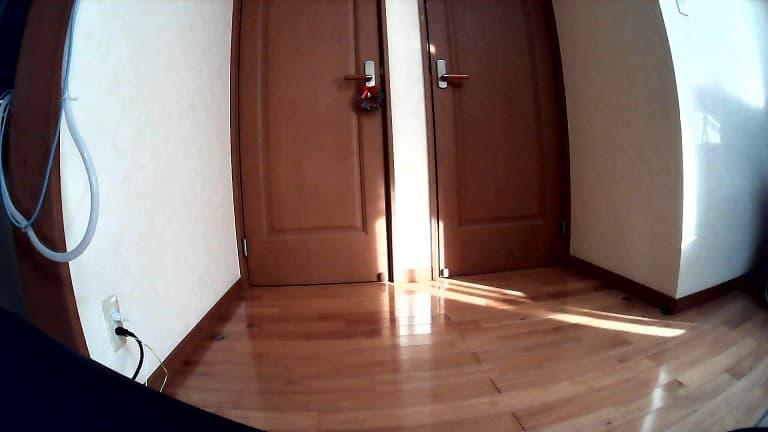 部屋を撮影