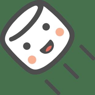 マシュマロロゴ