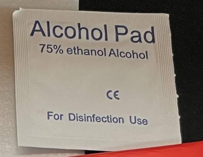 アルコールパッド