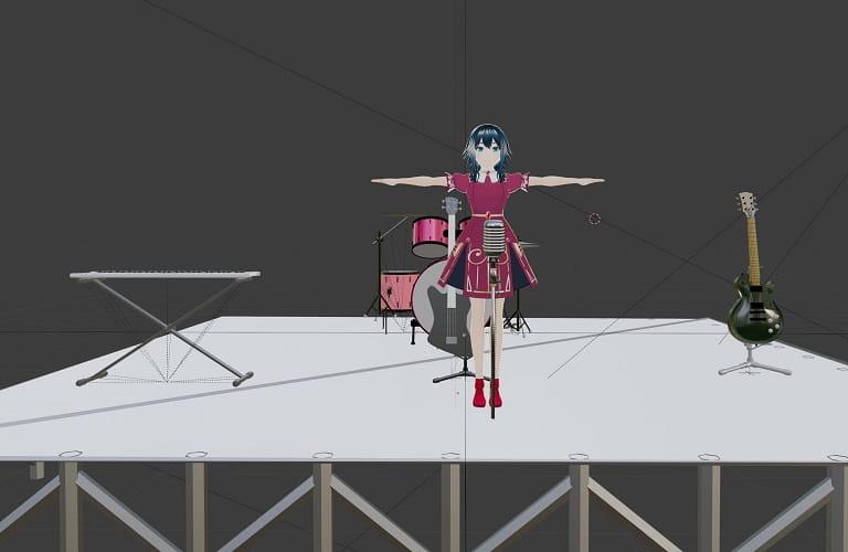 3Dステージ