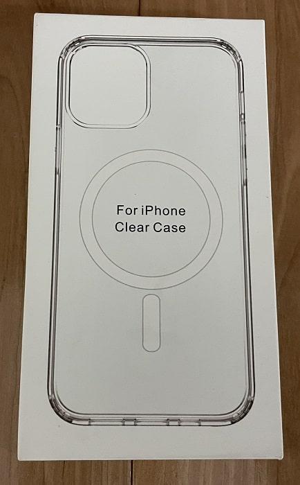 ケースの箱(表)