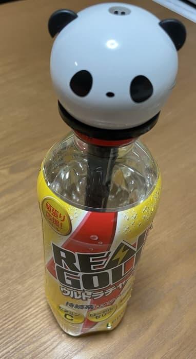 DAISOペットボトル加湿器