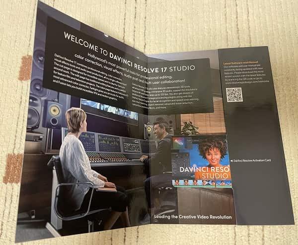 DaVinci Resolve Studio パッケージ版